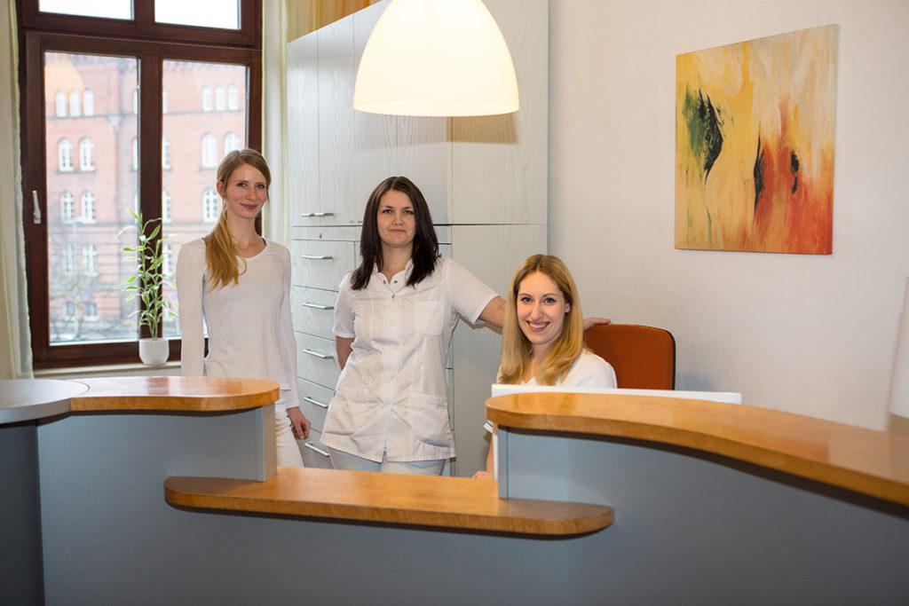 Frauenarzt-Praxis Team